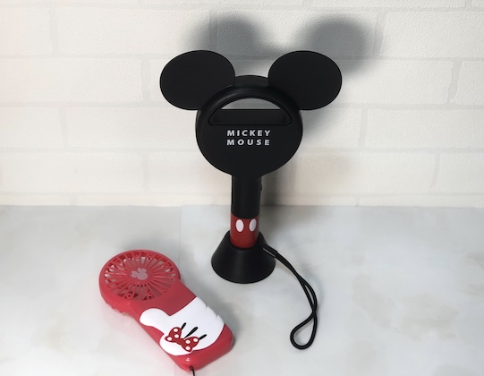 SPRiNG (スプリング) 2020 9月号 増刊 <セブン限定> 雑誌 付録 [ミッキーマウス 羽根なしハンディ扇風機]