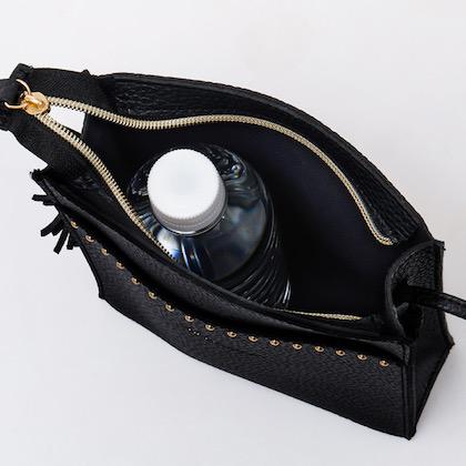 petite robe noire STUDS SHOULDER BAG