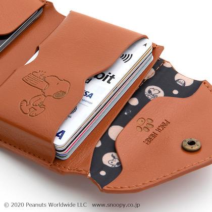 スヌーピー 三つ折り財布