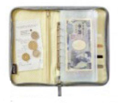 MOOMIN お金が貯まるマルチポーチ BOOK party ver.