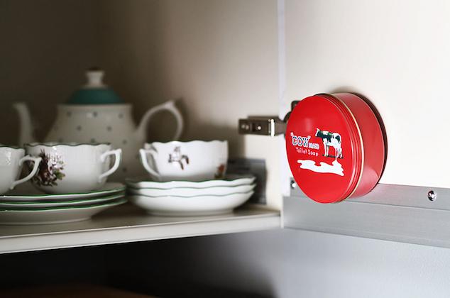 牛乳石鹼「カウブランド赤箱」のある暮らし