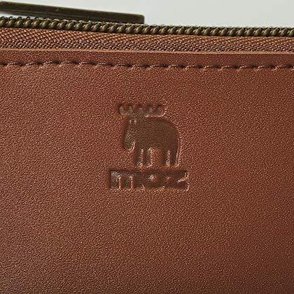 moz 整理上手な本革コンパクト財布BOOK