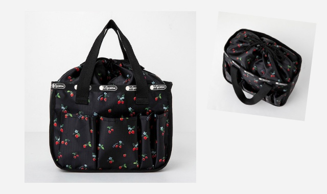 LESPORTSAC COLLECTION BOOK MULTI BOX STRAWBERRY PATCH