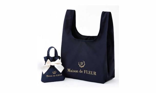 Maison de FLEUR MY ECOBAG BOOK NAVY <ローソン・HMV限定>