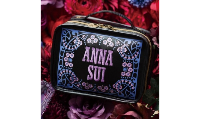 ANNA SUI COLLECTION BOOK 仕切りが動くコスメポーチ FLOWERS×EMBROIDERY <ファミマ限定>